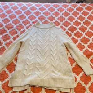 White old navy sweater dress
